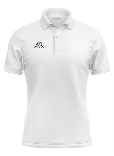 Kappa Polo T-Shirt Hege  Beyaz